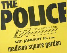 POLICE POSTER - Price Estimate: $200 - $400
