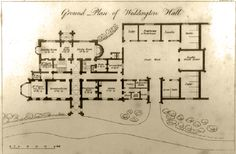 Weddington Castle floorplan