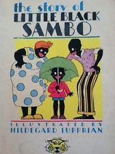 Little Black Sambo Antique Books 1931 Mcloughlin & 3 Others Color Lithos Rare
