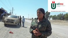 Female Commander Leads Anti IS Fighters in Hometown Raqqa