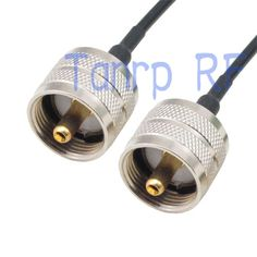 5.44$  Watch now - http://ali787.shopchina.info/go.php?t=32320793575 - 50CM Pigtail coaxial jumper cable RG174 extension cord 20in UHF male PL259 PL-259 plug to UHF male plug RF connector adapter 5.44$ #buymethat
