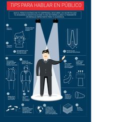 Infografía: Tips para hablar en público