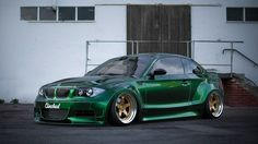 Clinched Widebody kit on BMW 135i