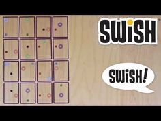 We also first saw Swish at Toy Fair 2011 and couldn't wait for its release! We have found so many fun ways to use this with all ages! The box says 8+ but our 4-6 year-olds love this game!