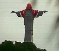 Vestir a camisa no Cristo sem autorizaçao dos donos dos direitos, Deus castiga - Blue Bus