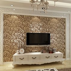 Meters Non Woven Wallpaper Pattern Colorful Vine Leaves Living Room Sofa  Bedroom TV Backdrop Wallpaper Part 46