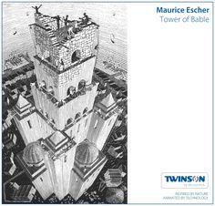 Escher - Tower of Bable #twinson #deceuninck #escher