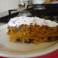 Turnip-raisin Spice Cake Recipe