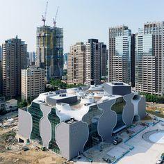 台中国立歌劇院 taichung metropolitan opera house by Toyo Ito