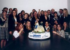 Ketchum Geany celebrating Top 10 agency in Germany 1996.