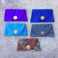 Our five newest clutches from Kenya! #marketcolors