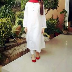 Girls Dp, Pakistani Dresses, White Dress, Coat, Casual, Choices, Display, Outfits, Facebook