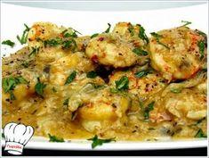 ΓΑΡΙΔΕΣ ΜΟΥΣΤΑΡΔΟΣΚΟΡΔΑΤΕΣ ΝΗΣΤΙΣΙΜΕΣ!!! - Νόστιμες συνταγές της Γωγώς! Greek Recipes, Fish Recipes, Seafood Recipes, Recipies, Fish And Seafood, Cauliflower, Curry, Food And Drink, Meat