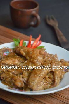 Diah Didi's Kitchen: Ayam Bumbu Klaten Thai Recipes, Cooking Recipes, Healthy Recipes, Indonesian Cuisine, Indonesian Recipes, Diah Didi Kitchen, Food And Drink, Yummy Food, Favorite Recipes