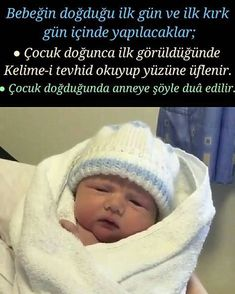 The first day of the baby's birth and the first forty days Bebeğin doğduğu ilk gün ve ilk kırk gün içinde yapılacaklar; ● Çocuk … They will be done on the first day of birth and in the first forty days; ● When the child is first born, he read t Islam, Baby Birth, Kids Health, Fitness Tattoos, New Baby Products, Children, Day, Instagram, Wordpress Theme