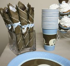 Blue Elephant Tableware