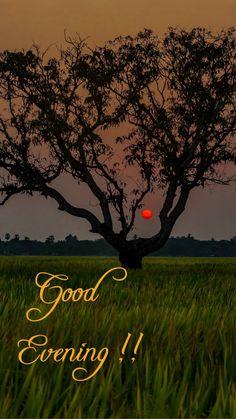 Good Evening Messages, Evening Greetings, Good Morning, Celestial, Sunset, Outdoor, Buen Dia, Outdoors, Bonjour