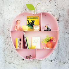 Etagere pomme apolline rose - décorations murales mobilier - bonton 3
