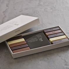 B by B.(ビーバイビー)銀座 :  チョコレート詰合せ 10種10本入り