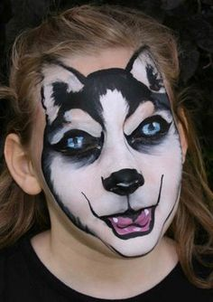 Husky Face Painting | LUUUX