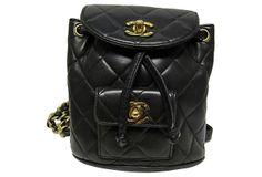 Chanel Quilted Backpack on OneKingsLane.com