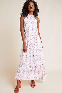 c67e34ec4640 ML Monique Lhuillier Freesia Maxi Dress #ad #AnthroFave #AnthroRegistry  Anthropologie #Anthropologie #