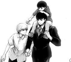 Amon and Kaneki
