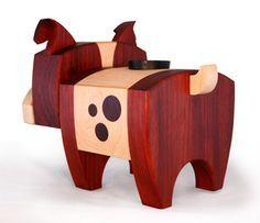 bruce - wood candy workshop - cameron tiede - wood dog