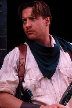 Young Brendan Fraser The Mummy 101 Gadgets That Chang...