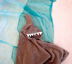 Shark Hoodie Towel | 41 DIY Gifts You'll Want To Keep For Yourself