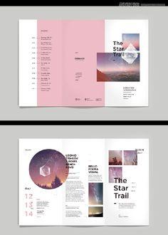 20個設計技巧教你設計驚艷的三折頁