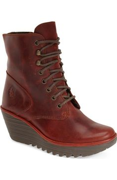 Fly London 'Ygot' Platform Wedge Boot (Women) available at #Nordstrom