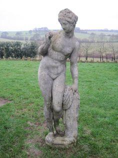 Antique Garden Statue - Venus,venus,statue,garden antiques,antiques,garden,4 seasons,buy,sell,for sale,shop,online,statuary