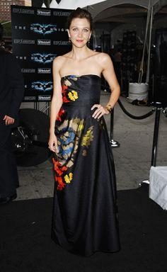 Dries Van Noten gown Maggie Gyllenhaal