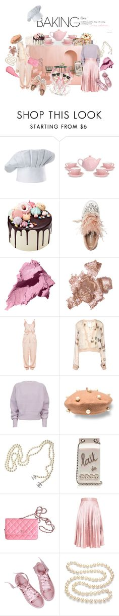"""""""BFF Baking party"""" by vinny1108 ❤ liked on Polyvore featuring interior, interiors, interior design, home, home decor, interior decorating, F.A.O. Schwarz, Miu Miu, Bobbi Brown Cosmetics and By Terry"""