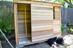 Building a Cedar Garden Shed