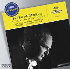 P. ANDERS Opera Arias & Orchestral Songs - Deutsche Grammophon