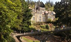 Cragside mansion, which pioneered the use of hydroelectricity in 1878