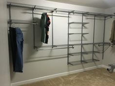 Rubbermaid Configurations Homefree Closet System