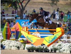 Nick Skelton Olympic Individual Jumping GoldDeodoro Olympic Park in Rio de…