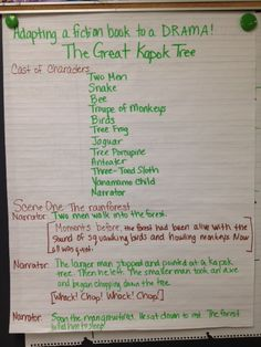 Awesome Earth Day lesson: The Great Kapok Tree