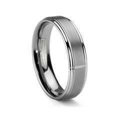 MATISSE 6MM   The MATISSE is a narrower version of the MATTINO. If you prefer a lighter weight or slimmer design, this ring is for you. This 6mm wide comfort-fit Tungsten Forever ring is perfect
