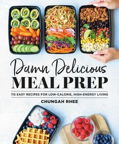 """Read """"Damn Delicious Meal Prep 115 Easy Recipes for Low-Calorie, High-Energy Living"""" by Chungah Rhee available from Rakuten Kobo. Meal prep is the best thing to happen to healthy eating-and DAMN DELICIOUS MEAL PREP makes it tastier than ever! Easy Cooking, Healthy Cooking, Healthy Eating, Dinner Healthy, Cooking Light, Cooking Tools, Quesadillas, Breakfast Party, Breakfast Ideas"""