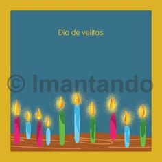 """""""Que cada vela que encendamos nos recuerde agradecer, nos invite a reflexionar, nos cargue de buenos deseos, nos inspire nuevos propósitos y nos llene de buenas intenciones."""" Imantando"""