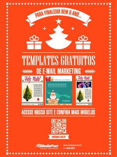Campanha @MediaPost - Divulgação de Templates Gratuitos #templates #revista #emailmarketing