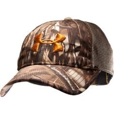 e0996561cd6e0 UNDER ARMOUR Mesh-back Camo Hat by Under Armour.  24.99. MESH IS HEATHER