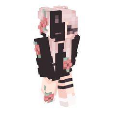 Fecha: 2018-08-30, Perfiles: ★31 *interesting idea: Half enderman* Skins Minecraft, Minecraft Skins Female, Minecraft Skins Aesthetic, Capas Minecraft, Creeper Minecraft, Cool Minecraft, Minecraft Houses, Minecraft Cake, Minecraft Crafts