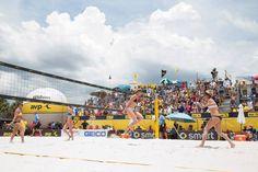 April Ross and Kerri Walsh 2014 St. Petersburg Open | AVP Beach Volleyball