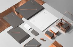 Gorgeous brand identity work for Vesha Law | Designed by For Brands, a small, independent branding studio from Poland.