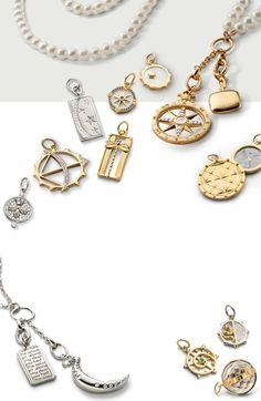 Monica Rich Kosann | Lockets, Necklaces, Bracelets & Fine Jewelry 18k Gold Chain, Gold Chains, Ring Necklace, Jewelry Necklaces, Bracelets, Custom Charms, Lockets, Diamond Jewelry, Jewelry Collection